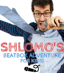 Shlomo's Beatbox Adventure For Kids | NMP Live