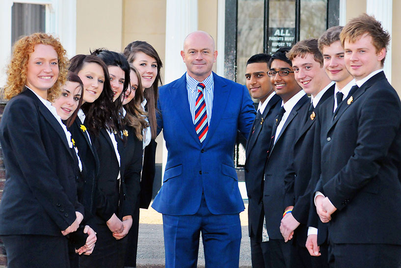 Ross Kemp St Joseph's College presentation evening