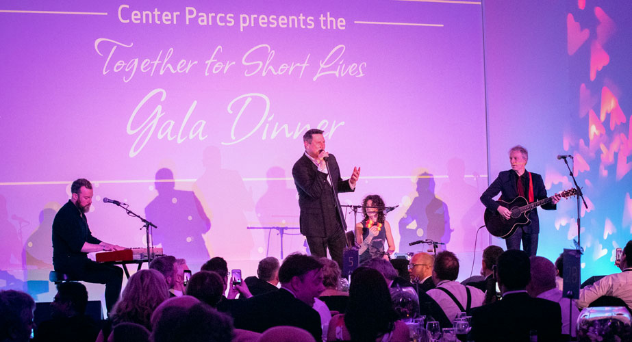 Tony Hadley, performing at Together For Short Lives, charity gala dinner, hosted by Center Parcs